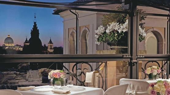 Matrimonio a GRAND HOTEL DE LA MINERVE - Roma
